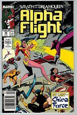 Alpha Flight #69 1989 (C5970) Marvel 1st Appearance of Rat from China Force