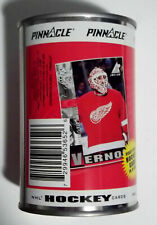 1997-98 Pinnacle Inside Rare MIKE VERNON Sealed Collector Can w/ 10 Card Pack