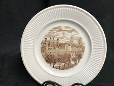 "Wedgwood 1941 Old London View Collector Plate ~ ""Tower Of London"" ~ 10 1/2"""