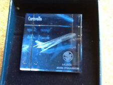 Air France Caravelle Crystal paperweight