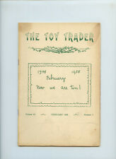 February 1958 The Toy Trader Magazine Dolls 10th Anniversary Issue