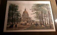 Phillipe Benoist  PARIS DANS SA SPLENDEUR ANTIQUE LITHOGRAPH 1863