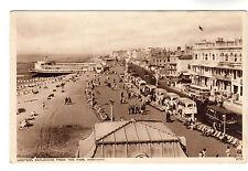 Western Esplanade - Worthing Photo Postcard c1940s