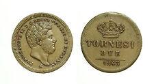 pcc1620_1) Napoli Regno delle Due Sicilie Ferdinando II - 2 Tornesi 1843