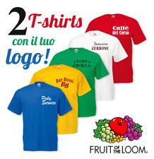 2 Magliette con stampa, t-shirts con logo, maglie personalizzate, stampa maglie