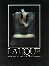 French Lalique Art Glass Vases Perfumes Statues Exhibition Catalog / Scarce Book