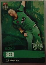 2015 Tap n Play ... BBL Silver ... MICHAEL BEER ... MELBOURNE Stars.