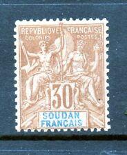 French Sudan Stamp - Scott # 14 - Mint Hinged