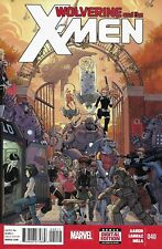 Wolverine And The X-Men Comic Issue 40 Modern Age First Print 2014 Aaron Larraz