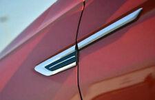 Car Side Wing Fender Air Guide Vents Frame Trim For Volkswagen tiguan 2016 2017