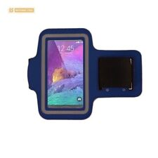 BEYOND CELL Neoprene Armband Size 03 For Samsung Galaxy Note2 3 4 D.Blue LG G3