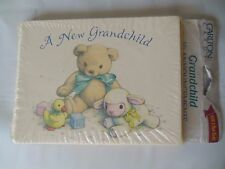 Vintage Grandchild Announcements CARLTON Birth Announcements 10 Cards NOS