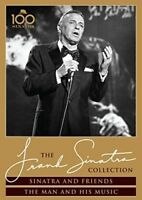 Frank Sinatra: Sinatra and Friends / The Man and His Music [New DVD] Super Jew