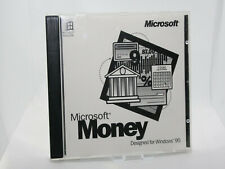 ✔️📀 RETRO MICROSOFT MONEY 95 PC SOFTWARE - UK SELLER