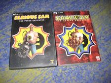 Serious Sam The First Encounter deutsch PC TEIL 1 und 2 in DVD Hüllen