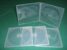 2400 5mm ULTRA SLIM CLEAR SINGLE CD POLY CASE JS110