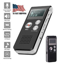 16Gb Voice Activated Digital Sound Audio Recorder Small Dictaphone Mp3 Player