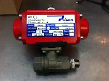 "Prisma Pneumatic Actuator Stainless Steel 8bar 3/8"" Air/Water"