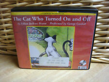 CAT WHO TURNED ON & OFF by Lilian Jackson Braun (1991 Unabridged CD)