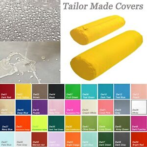 TAILOR MADE*Bolster Cover*Waterproof Outdoor Yoga Neck Roll Long Tube Case Dw02