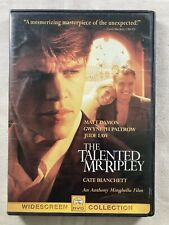 The Talented Mr. Ripley Dvd Anthony Minghella(Dir) 1999