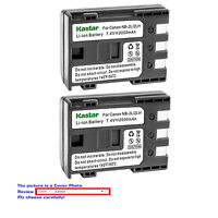 Kastar Replacement Battery for Canon NB-2L 2L Canon PowerShot S45 PowerShot S50