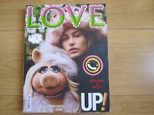 Love Magazine 18 Autumn / Winter 2017 Hailey Rhode,Baldwin & Miss Piggy New.