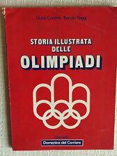 LIBRO STORIA ILLUSTRATA DELLE OLIMPIADI - GIOCHI OLIMPICI 1896 - 1972