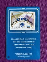 1999 TESSERA FILATELICA  UPU UNIONE POSTALE UNIVERSALE RARA