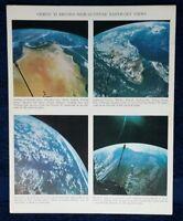 GEMINI XI - RECORD HIGH-ALTITUDE EARTH-SKY VIEWS SEPT 1966 CONRAD GORDON AWESOME