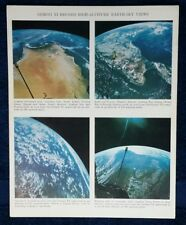 GEMINI XI - RECORD HIGH-ALTITUDE EARTH-SKY VIEWS SEPT 1966 CONRAD GORDON AWESOME