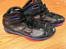 Nike 367173-003 Men's Hyperize Black Blue Red Athletic Basketball Shoes Sz 11
