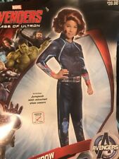 Avengers Black Widow Costume Child Medium (8–10)