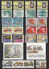 (RP92) PHILIPPINES - 1992 COMPLETE STAMP SETS + S/S. MUH