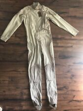 Brown Jumpsuit Costume Post Apcalypse Military Cosplay Battle Suit