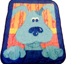 Blues Clues blanket bedding 50x60 PLUSH FREE SHIPPING Nickelodeon throw