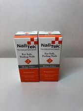 NAIL TEK 2 RIDGE FILLER FOR SOFT PEELING NAILS (2 BOTTLES)
