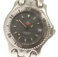 TAG HEUER S/el WG1113-K0 Date gray Dial Quartz Men's Watch_569033