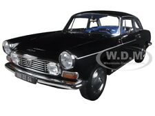 1967 PEUGEOT 404 COUPE BLACK 1/18 DIECAST MODEL CAR BY NOREV 184778
