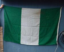 Vintage Signal flag country Nigeria Flag Green White  Nautical Ship Original!
