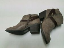 Soda Womens Ankle Boots Size 4m High Heels Casual Dress Shoes
