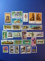 LOT 647 TIMBRES STAMP DIVERS ALLEMAGNE DDR ANNEE 1975 - 1977