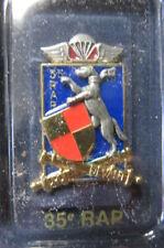 Insigne 35e régiment d'artillerie parachutiste Tarbes artillerie Caesar canon