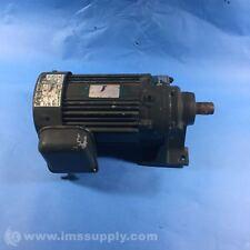 SUMITOMO CNHM05-4085YA-8 GEAR REDUCER, 3 PHASE INDUCTION MOTOR USIP