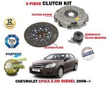 FOR CHEVROLET EPICA 2.0D DIESEL 2008-2011 3 PIECE CLUTCH KIT + CONCENTRIC SLAVE