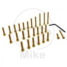 Screw Set Motor Aluminium Gold KAWASAKI Z 1000 Jmp Pro Screw Set