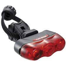CatEye TL-LD630-R 3 RAPID Rear Tail Light Taillight Flashing LED Bike Red