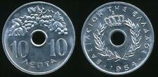 Greece, Kingdom, 1954 10 Lepta - Choice Uncirculated