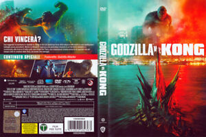 "DVD ""GODZILLA VS KONG"" deutsch uncut NEU -sofort lieferbar noch vor Kinostart-"