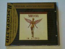 NIRVANA--In Utero MFSL ULTRADISC II 24 Karat Gold CD With J-CARD-FACTORY SEALED